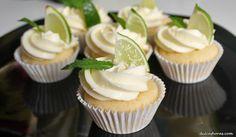 mojito cupcakes receta