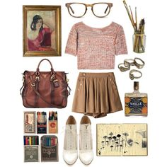 """""""Art Student"""" by the59thstreetbridge on Polyvore"""