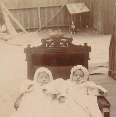 Strange Twins Antique Cabinet Card by BallyDingRevue on Etsy, $40.00