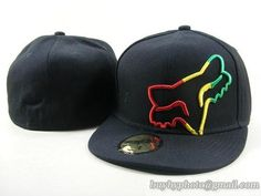 Fox Racing Hats Fitted Hats Downhill Race Hats Black|only US$16.00 - follow me to pick up couopons.