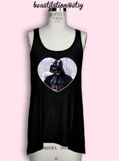Hey, I found this really awesome Etsy listing at https://www.etsy.com/listing/100375791/darth-vader-semi-sheer-tank