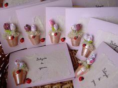 Convites de baptizado Joaninhas!! by Irene Sarranheira, via Flickr