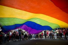 What Do The Colors In The Gay Pride Flag Stand For? It's A Beautiful And Inspiring Message