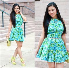 Floral Skater Dress http://www.lynnegabriel.com/?p=20372