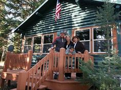 """West Yellowstone Vacation Rental - VRBO 72188 - 4 BR Yellowstone Country Chateau / Country House in MT, """"The"""" Original Moose Haven-Log Home"""