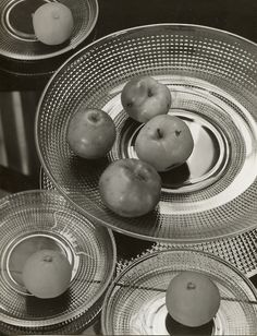 Dishes by Wilhelm Wagenfeld, 1938