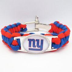 NFL New York Giants Football Team Bracelet