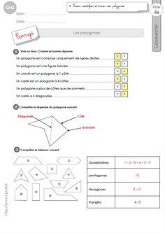 Triangles cm1 exercices corrig s g om trie cycle 3 pass education cm1 pinterest - A portee de maths cm2 en ligne ...