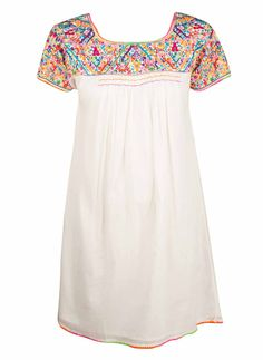 Star Mela Ina Embroidered Dress