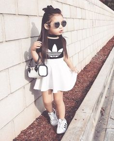 Pin by everything dolan on *fashion* baby girl fashion, cute outfits for ki Cute Little Girls Outfits, Kids Outfits Girls, Toddler Outfits, Clothes For Kids Girls, Baby Outfits, Cute Kids Fashion, Little Girl Fashion, Toddler Fashion, Trendy Fashion