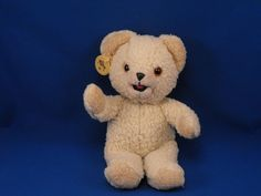 New product 'RUSS Lever Bro Snuggle Small Woolly Cream Bear' added to Dirty Butter Plush Animal Shoppe! - $8.00 - (NOT AS SHOWN) 1997 RUSS Lever Bro. SNUGGLE Plush 7 inch Seated Cream Woolly Teddy Bear Tan Ears, Hands, Feet (MISSING P…