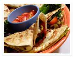This cheeseburger quesadilla recipe earns high points from everyone in the family, including the cook, because this is one of the *easiest* dinners ever!