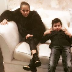 Mini-Mes! Jennifer Lopez and Marc Anthony's Twins Dress Like Their Parents
