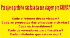 Folha do Sul - Blog do Paulão no ar desde 15/4/2012: A CHINA E AS PROMESSAS FEITAS PELO PREFEITO DE TRÊ...