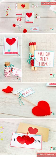 Regalo San Valentín, regalo original boda, kit luna de miel, Gift the couples a creative box o — it's a neat wedding, birthday, or anniversary gift! www.estudiolove.com