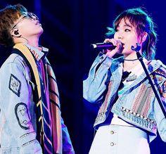 Akdong Musician AKMU K Pop, Lee Chan Hyuk, Lee Soo Hyun, Funny Lyrics, Akdong Musician, Sister Act, Korean Music, Sibling, Show