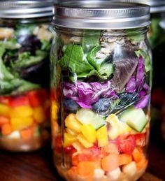 Kavanozda Salata Fikrine Bayılacaksınız