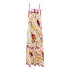 Emilio Pucci Printed Cotton Maxi Dress
