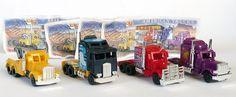 Satz COOLE American Trucks Mit Beipackzetteln Alle 4 Trucks Modelle Ü EI Truck   eBay