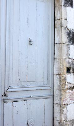 Ars en Re' Ile de Re, France Duck Egg Blue, Exterior Colors, Soft Colors, Colorful Decor, Architecture Details, French Doors, To Go, Beautiful, Color Palettes