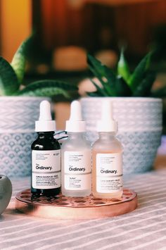 The Ordinary: Triple Threat They may take forever to ship their products and appear to regularly be out stock of cult-favorite items, but their approach to affordable but effective science based skin care is far from o… Beauty Care, Beauty Skin, Beauty Hacks, Anti Aging Moisturizer, Anti Aging Skin Care, The Ordinary Skincare, Skin Care Remedies, Organic Skin Care, Blog