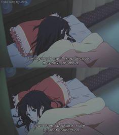 Anime:Tamako love story So true Me Anime, Dark Anime, Otaku Anime, Manga Anime, Sad Anime Quotes, Cartoon Quotes, Tamako Love Story, Memes, I Cant Sleep