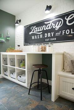 DIY Laundry Room Storage Shelves Ideas (1)