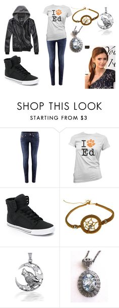 """""""Out"""" by aameiners ❤ liked on Polyvore featuring H&M, Supra and Cullen"""