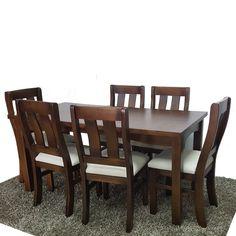 Juego de comedor NTO modelo Lumpur con 8 sillas. Precio por ...