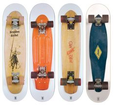 The Planks series of graphics by Girl Skateboards is an idea that is so simple I kick myself for not thinking of it. I saw a kid with the Koston board set up at Pier Park over the weekend, and it l…