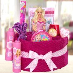Barbie Towel Cake