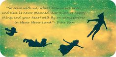 peter pan quote | Tumblr