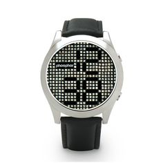 Micro-Magnetic Mechanical Digital technology adorned with Swarovski crystals
