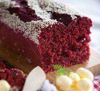 Sem açúcar, sem farinha e sem ovos, bolo de beterraba surpreende pelo seu sabor. Foto: Shutterstock