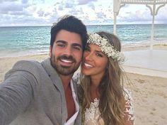Casamento na praia de famosos www.guianoivaonline.com.br Guia Noiva!