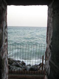Vodun = Door Of No Return Senegal, Africa.  Africans brought to North America as slaves from walked through this doorway.
