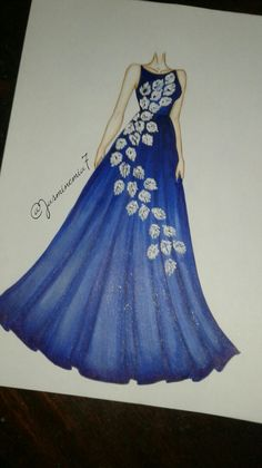 50 Ideas fashion design sketches dresses artists for 2019 Dress Design Drawing, Dress Design Sketches, Fashion Design Sketchbook, Fashion Design Drawings, Dress Drawing, Dress Illustration, Fashion Illustration Dresses, Illustration Artists, Artistic Fashion Photography