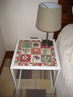 Mosaic Furniture, Home Decor Furniture, Mosaic Projects, Mosaic Designs, Barbacoa, Mosaic Art, Decoupage, Creative, Crafts