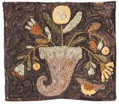 Maggie Bonanomi hooked rug