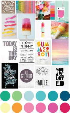 Moodboard Inspiration over at Two Peas