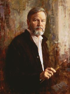 Howard Terpning, self-portrait