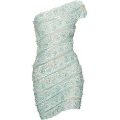 Pin di Corrina Hunter su Ensembles | Pinterest ❤ liked on Polyvore featuring dresses, green color dress, green dress and pin dress