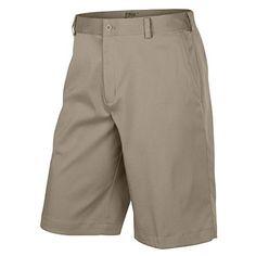 6a0f1e560cd0 Men Golf Clothing - Nike Mens Flat Front Tech Golf Shorts 36 Khaki Mens Golf