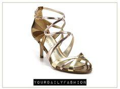 2fee65d463d IVANKA TRUMP Sandals - Elkie Strappy 2012 Gold Sandals