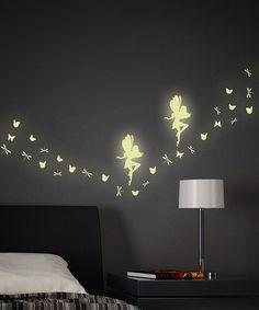 Loving this Fairy Glow In The Dark Wall Decals on #zulily! #zulilyfinds