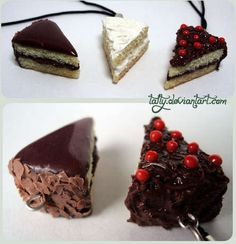 Polymer Clay Cake-No fattening calories here!