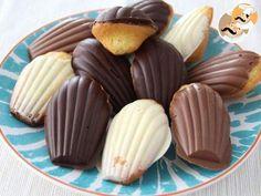 Madeleines au chocolat (pas à pas et en vidéo), Recette Ptitchef