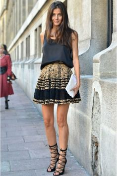 outfit baroque street-style outfit 2013 fashion blog