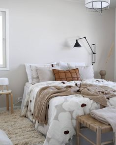 Scandinavian Interior Bedroom, Nordic Bedroom, Love Home, My Dream Home, Beautiful Houses Interior, Decorating With Pictures, Guest Bed, Interior Inspiration, Sweet Home