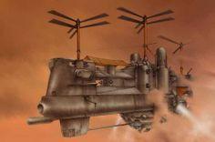 Steampunk Concept - steampunk Fan Art
